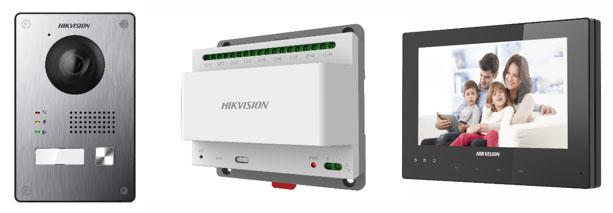 Video Intercom Hikvison - Cáp ít hơn và hiệu năng tốt hơn