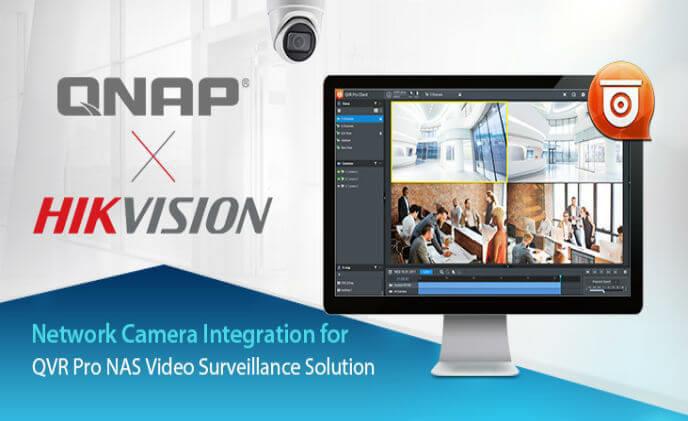 QNAP tích hợp với camera IP Hikvision H.265