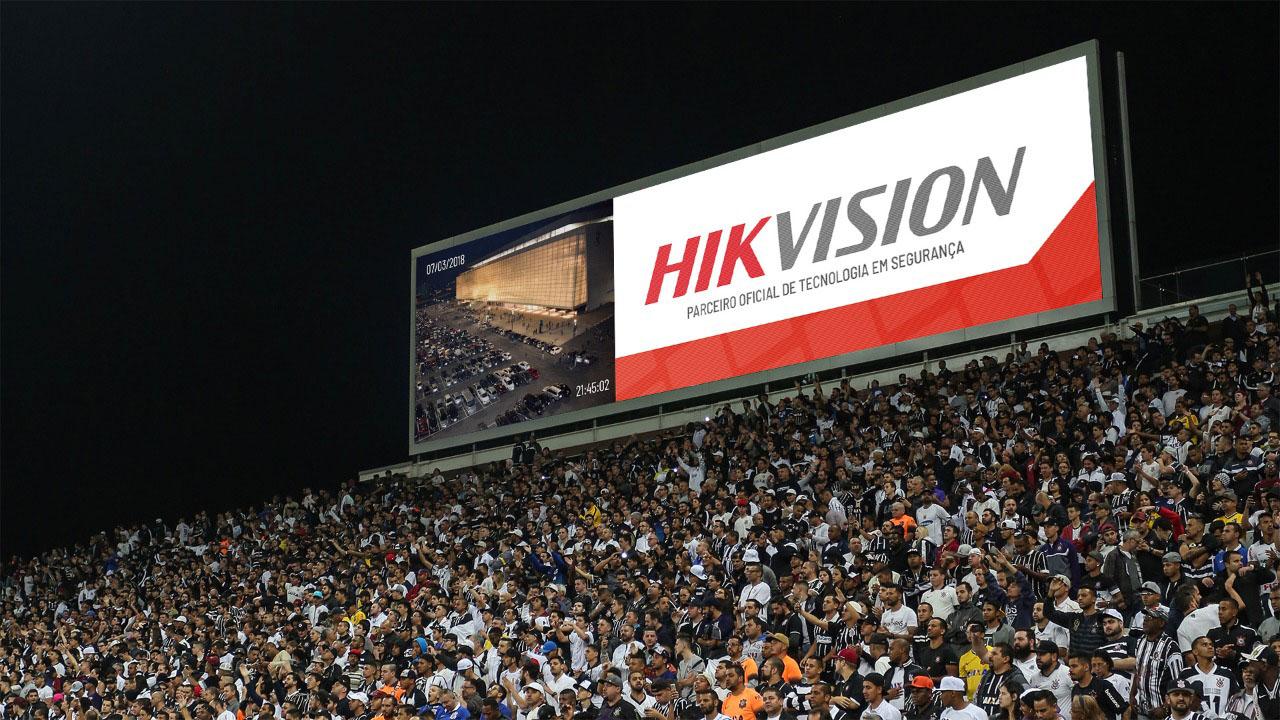 Hikvision thông báo hợp tác với Sao Paolo