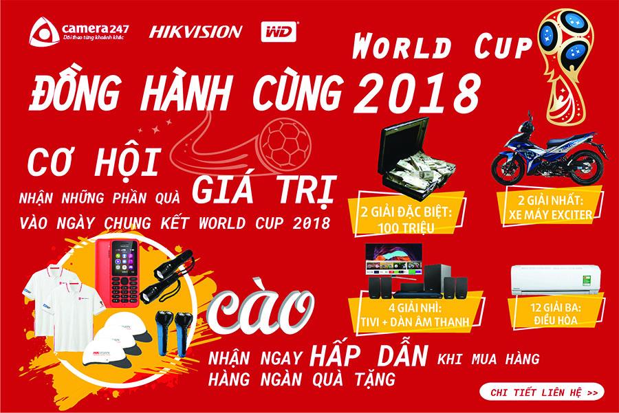 Đồng hành World Cup 2018 cùng Camera247
