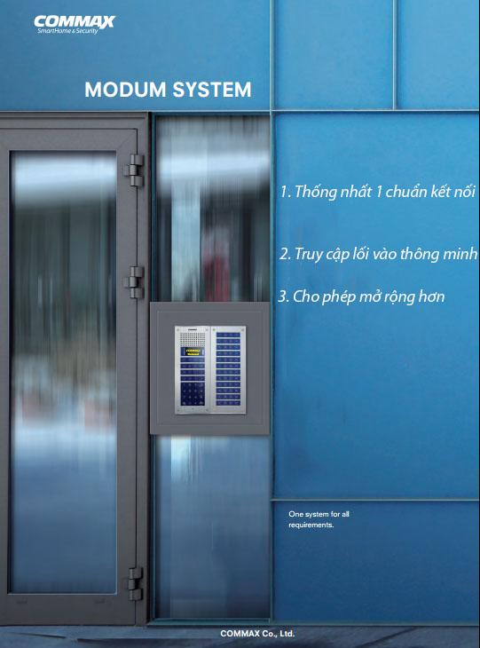 Modum System – Hệ thống kết hợp hoàn hảo