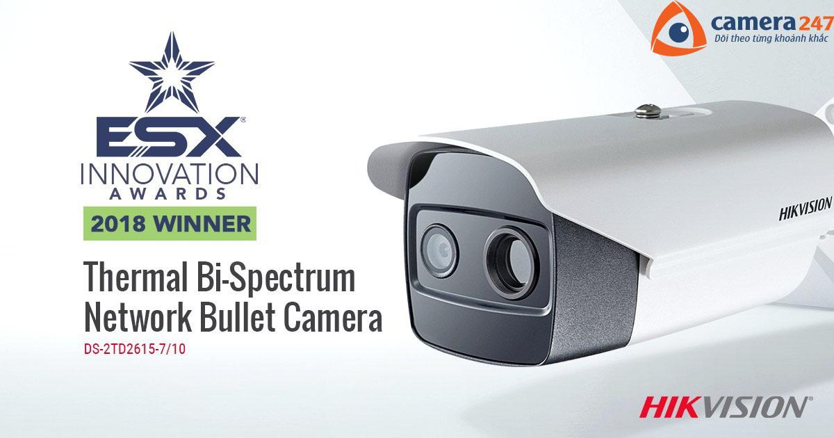 Hikvision giành giải thưởng sáng tạo ESX 2018