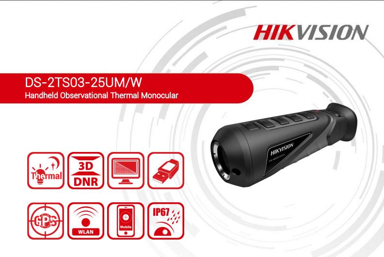 Camera ảnh nhiệt cầm tay mới Hikvision
