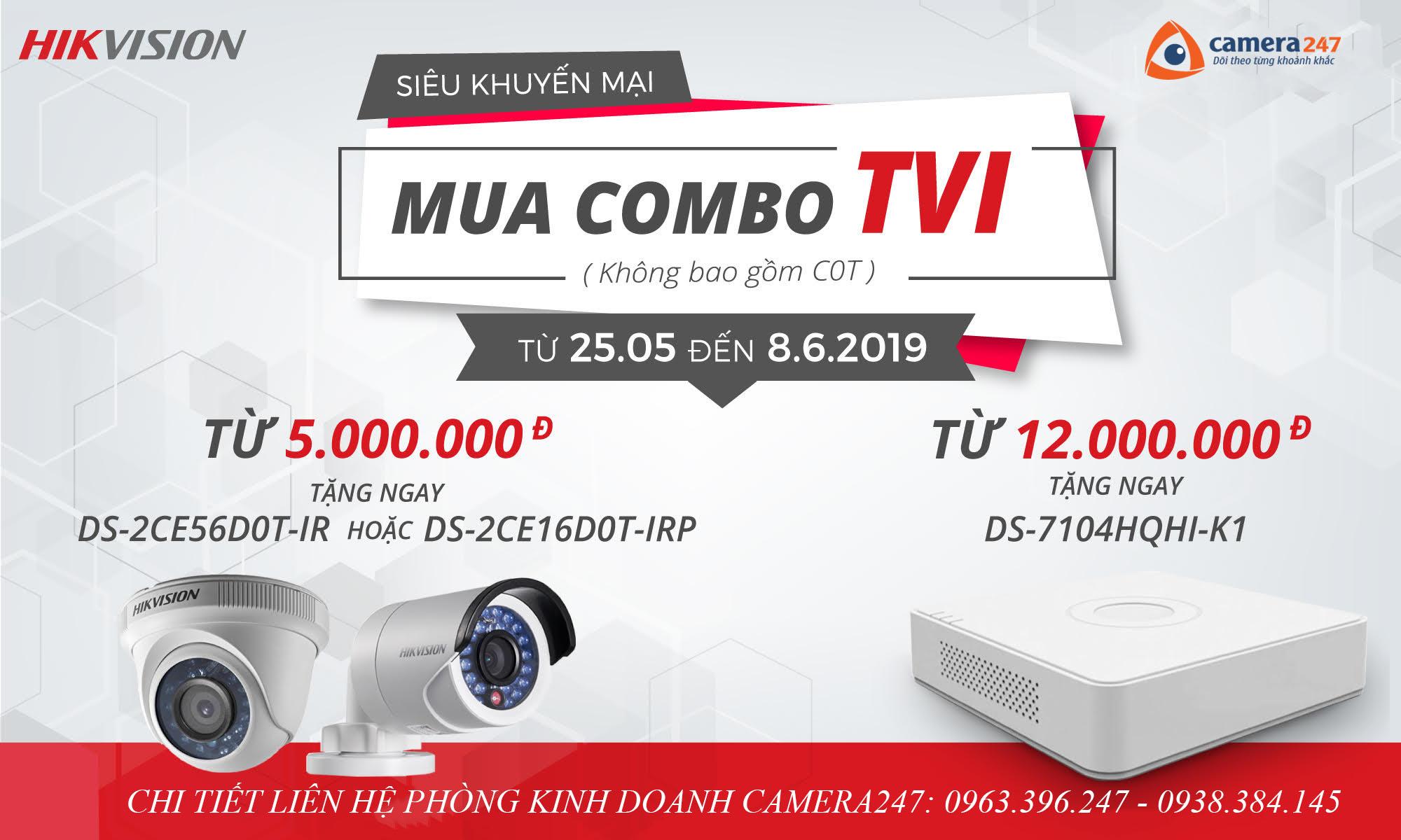 Chào hè rực rỡ cùng Camera Hikvision TVI