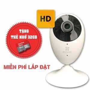 Lắp đặt trọn gói camera wifi chuẩn hd ezviz EZVIZ-CS-CV206-720P