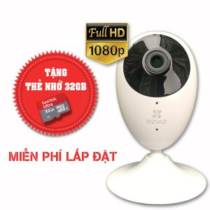 Lắp đặt trọn gói camera wifi full hd ezviz EZVIZ-CS-CV206-1080P