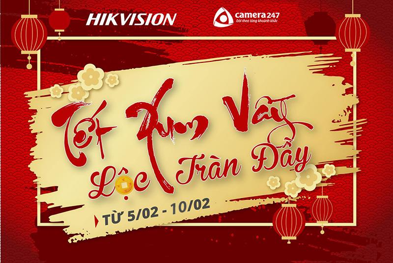 Khuyến mãi Hikvision mừng xuân Canh Tý 2020 11111