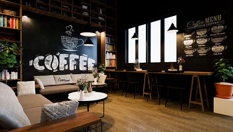 Giải pháp lắp đặt camera quán cafe